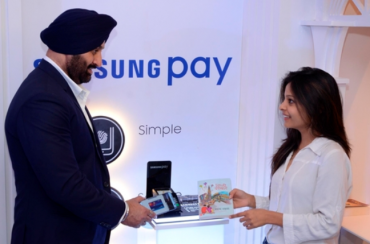 Samsung Showcases Mobile Payment Solution in India
