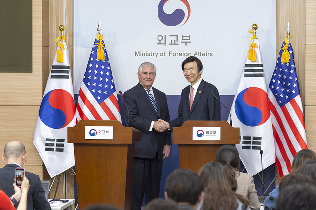 US Secretary of States Rex Tillerson's first visit to East Asia received mixed reviews. (Image: U.S. Department of State from Flicker)