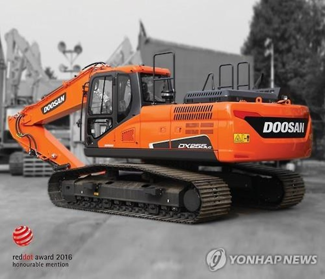 Doosan Bobcat is a leading player in the small construction machinery sector in the United States, and Doosan Infracore owns some 59 percent of the company. (Image: Yonhap)