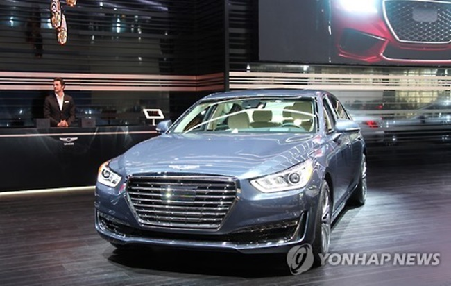 Hyundai Considers Debuting Genesis Sedans in China Next Year