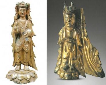 Ancient Buddhist Statue Found in Buyeo