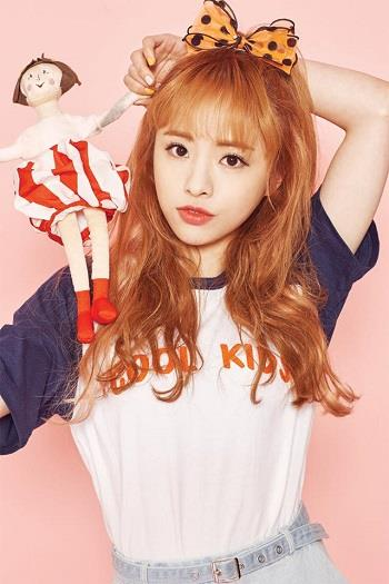 Oh My Girl's JinE, who's been on break since last year because of anorexia, will continue to miss out on the band's upcoming events. (image: Yonhap)