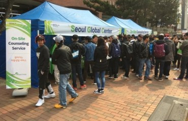 On-Site Counseling Service for Foreign Residents Attracts Record Numbers