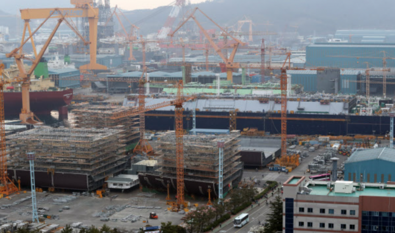Daewoo Shipbuilding's Struggling with New Orders amid Rescue Package Uncertainties