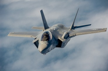 U.S. Stealth Fighters Carry Out Precision Bombing Drill in Korea