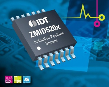 New IDT Inductive Position Sensor Family Improves Reliability and Flexibility While Reducing System Costs