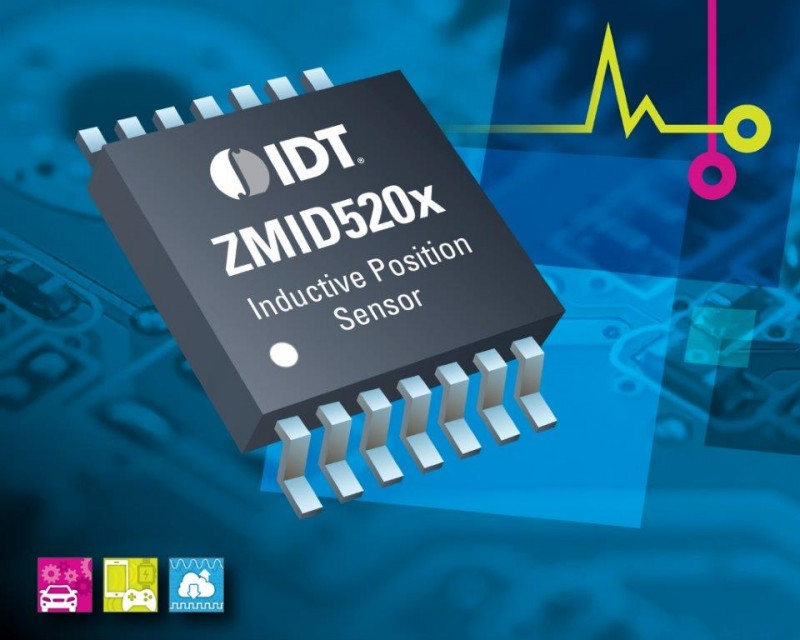 IDT to Showcase Contactless Position Sensors at Sensors Expo 2017