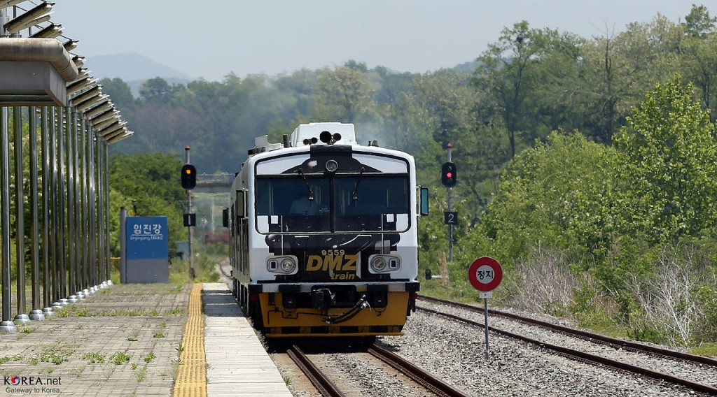 Korea DMZ Train 36 (Image courtesy of Wikimedia Commons)