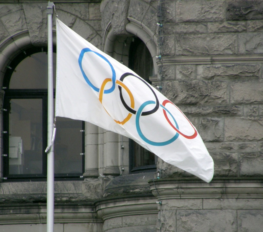 The IOC will form an Independent Testing Authority (ITA) and task it with developing an International Test Distribution Plan (ITDP) with each international sports federation. (The image shows the Olympic flag: Wikipedia)