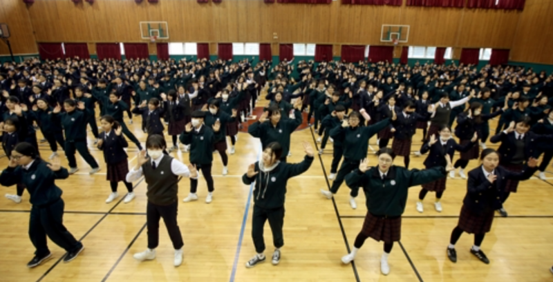 South Korean Girls' High Declares War on Obesity
