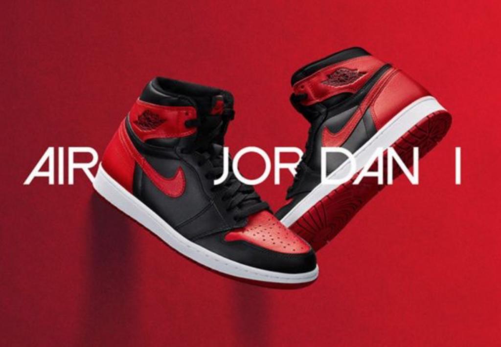 Air Jordan 1 Bred. (image: Nike)