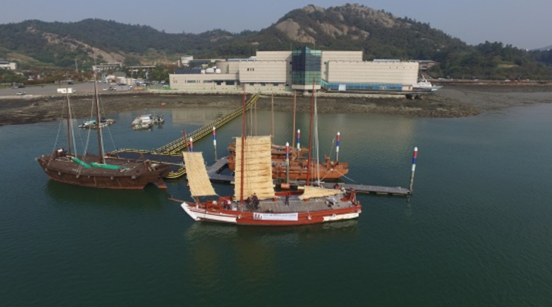 Port City Mokpo Offers Traditional Sailing Ship Experience