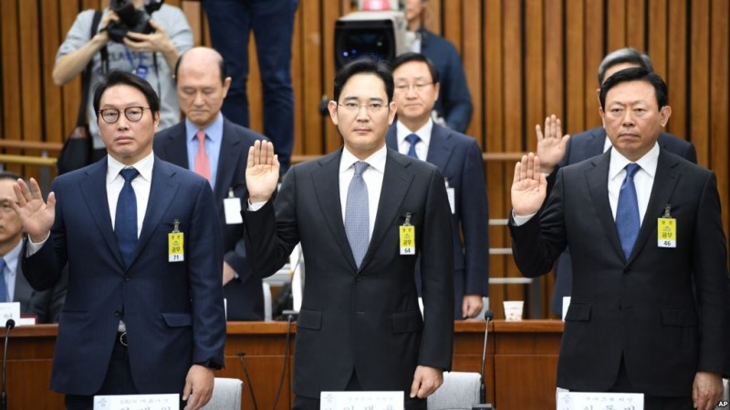 Chaebol Face 2nd Round of Probes for Bribery Related to Impeached President