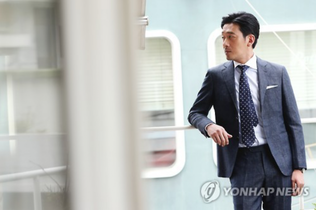 South Korean actor Ha Jung-woo. (image: Yonhap)