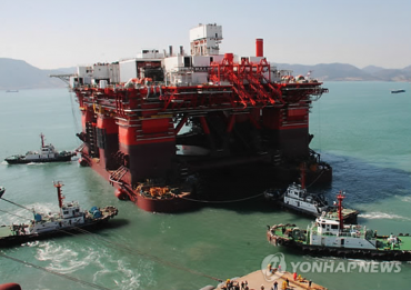 Hyundai Heavy Unit Sells Semisubmersible Rig for US$370 Mln