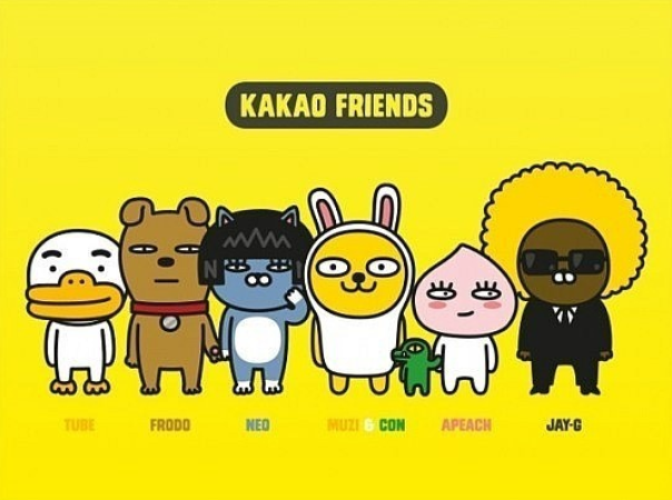 Kakao Talk is the top messenger app in South Korea, with more users than Facebook or Twitter. (Image courtesy of KakaoTalk)