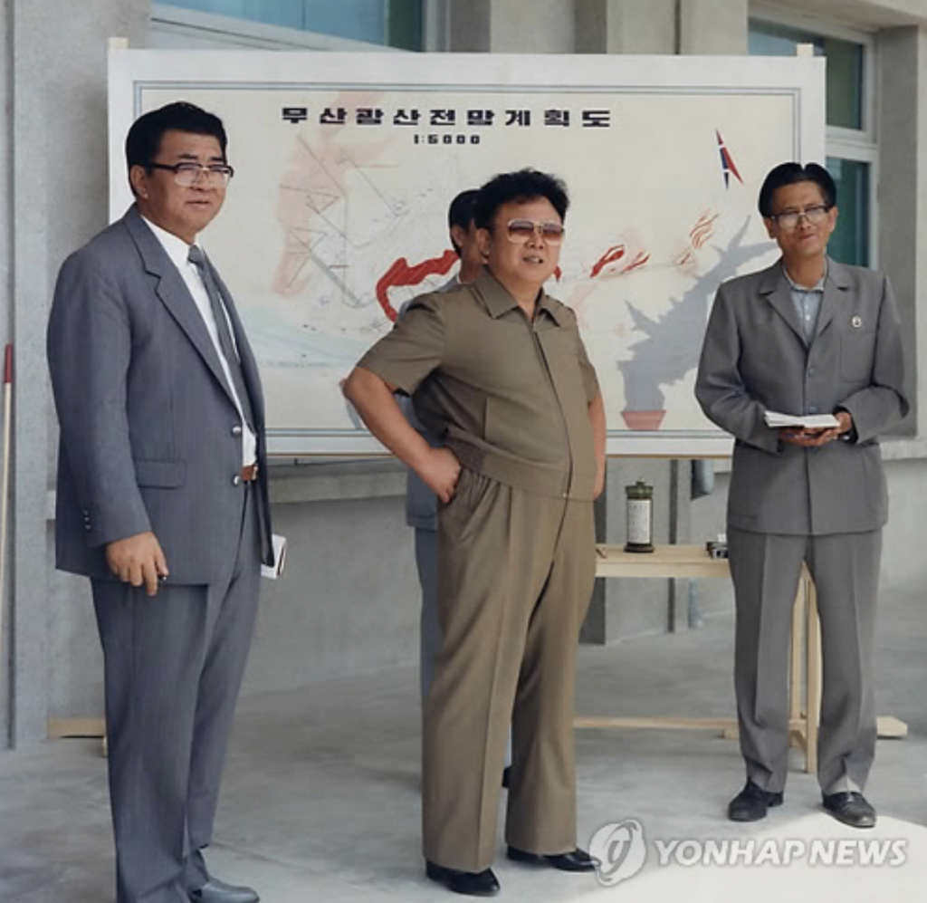 His successor, Kim Jong-il, was also marked by his corpulence. (image: Yonhap)