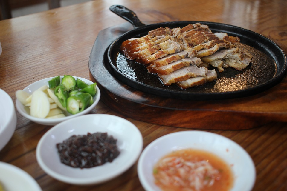 South Korea nabbed 24th place with a score of 82.06, Italian media including Corriere della Sera reported yesterday. (Image shows pork food/Pixabay)