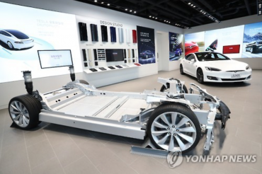 First Look at Tesla's Korean Showroom