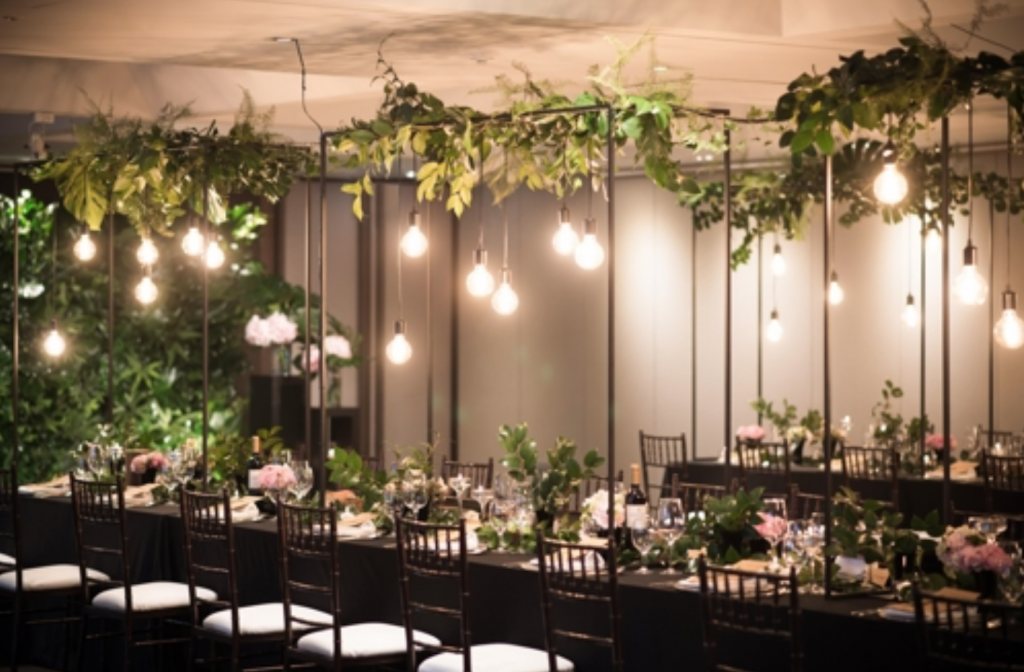 The Plaza Hotel introduced this week Romantic Greenery, a wedding package for one of its smaller halls for 20 to 80 guests. (image: The Plaza Hotel)