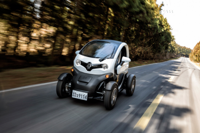 Renault's Mini EV Twizy to Launch in Korea