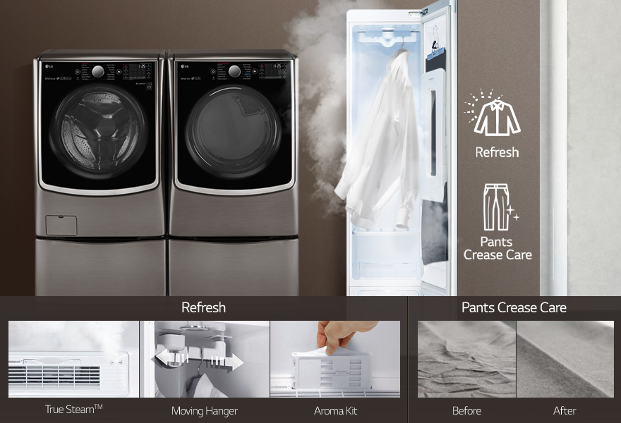 Sales of the LG Styler have been increasing as of late as more people have discovered through the grapevine that the new appliance can help revolutionize ironing and the way we take care of our clothes. (Image: LG)