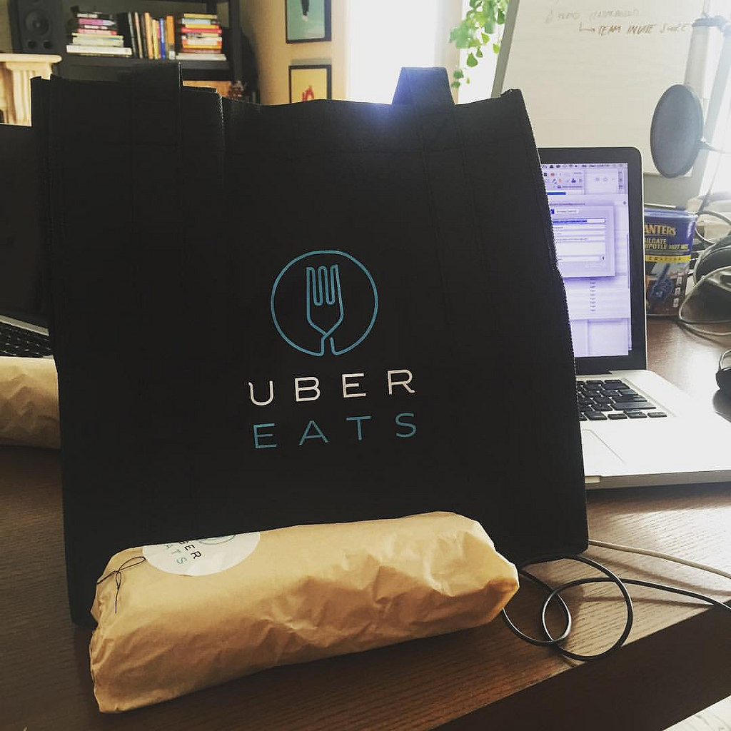 "UberEats is expected to join other local delivery apps such as Yogiyo, FoodFly and Baedal Minjok. Baedal Minjok is the market leader with more than 50 percent market share, followed by ""Yogiyo"" and ""Baedaltong,"" which are both owned by Germany-based Delivery Hero. (Image courtesy of dennis/Flickr)"