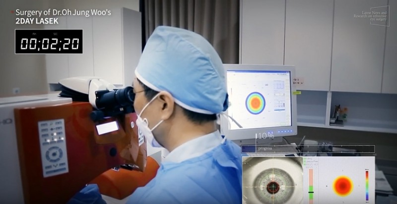 Dr. Oh Unveils Innovative '2Day LASEK' Eye Surgery