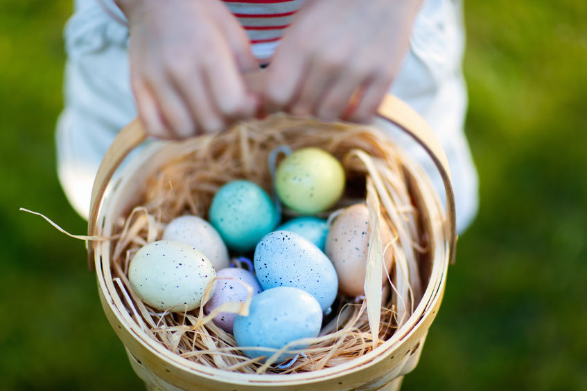 A 'beeping' good Easter egg hunt for visually-impaired children