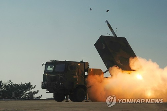 S. Korea Shows Off Artillery Firepower in Drills