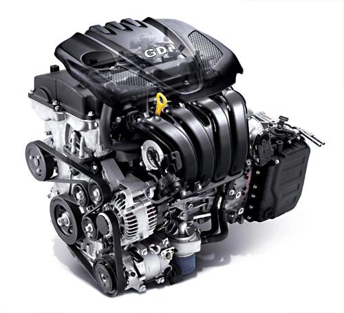 Theta 2.4 GDI engine. (image: Hyundai)