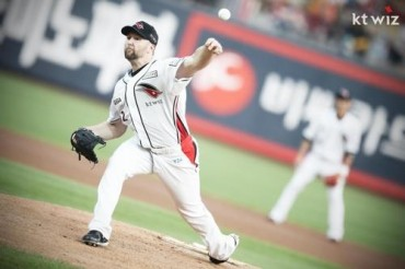 KT Wiz Rides Speedy Pitching to the Top of the KBO League