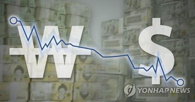 Dollar-Won Exchange Volatility Widens in March.
