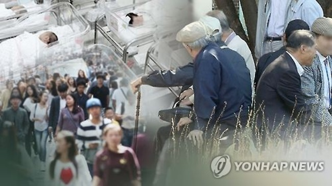 Meanwhile, the nation's overall population is expected to decrease from 2031, when the number is forecast to reach 52.96 million. (Image: Yonhap)