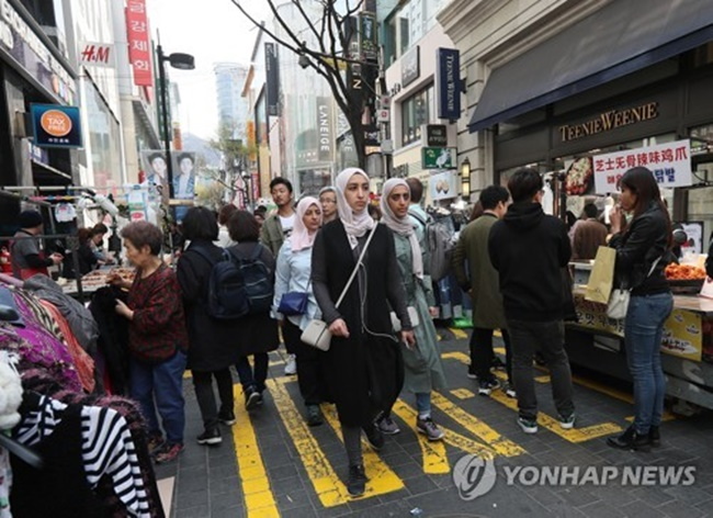 A distinctive difference in travel behavior was observed through the study between those travelling from the west and Asia. (Image: Yonhap)