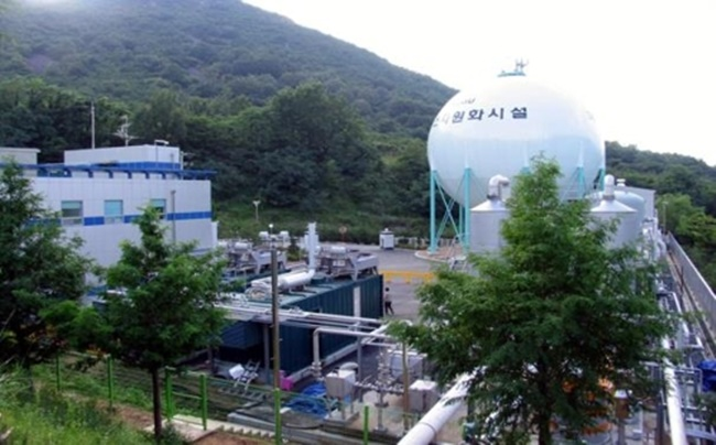 As the landfill gas replaces 160,000 barrels of oil that would otherwise be used for heating, the Daegu government is killing two birds with one stone while saving an additional 94 billion won. (Image: Daegu Metropolitan City)