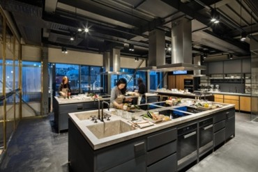 Hyundai Card's New Cultural Complex 'Cooking Library' Opens