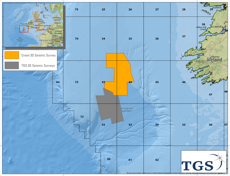 TGS Announces Crean 3D Multi-client Project in Ireland
