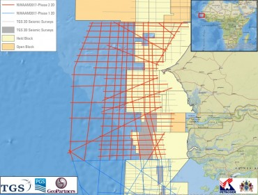 TGS Announces Further Expansion of North-West African Atlantic Margin 2D Seismic Survey