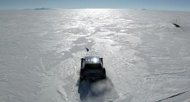 Hyundai Santa Fe SUV Crosses Antarctica
