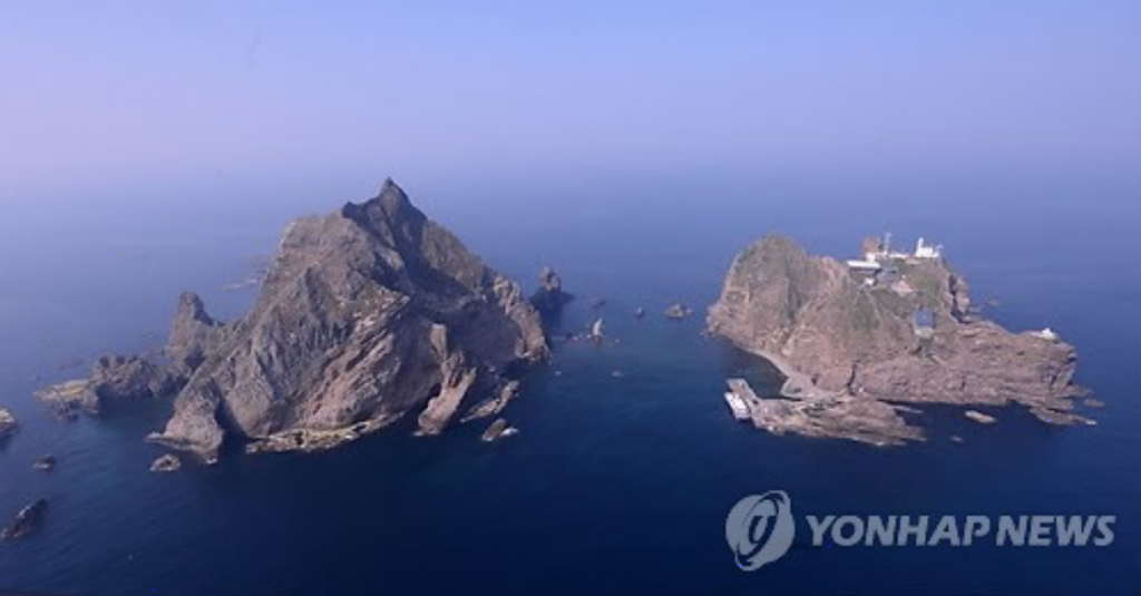 Dokdo, which lies about halfway between South Korea and Japan, is under the jurisdiction of South Korea. (image: Yonhap)