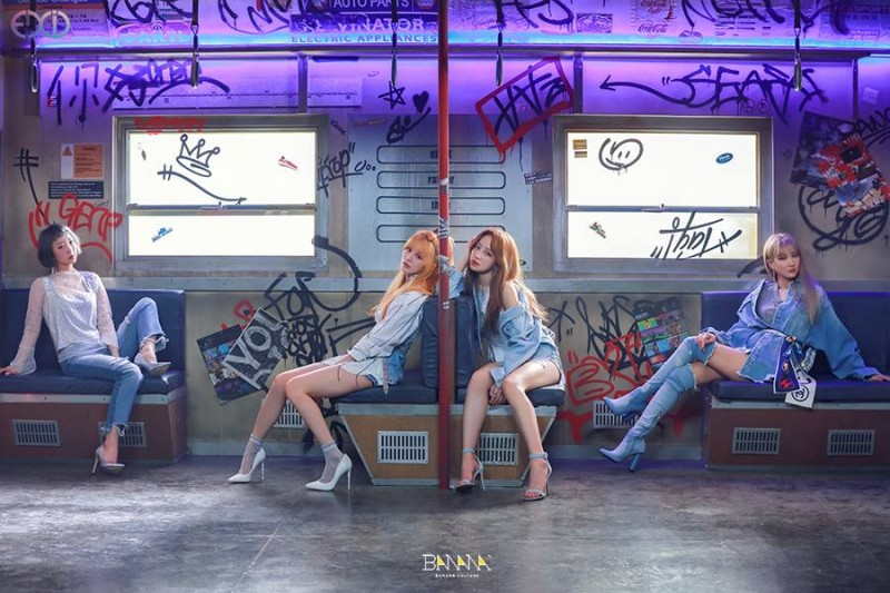 EXID out with 3rd EP Through Temporary Shake-up
