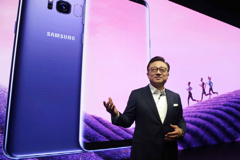 Koh Dong-jin, president of Samsung's mobile communications business (image: Samsing Electronics)