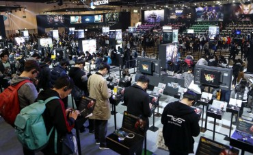 S. Korean Mobile Gamers' Daily Play Time Estimated at 46 min: Data