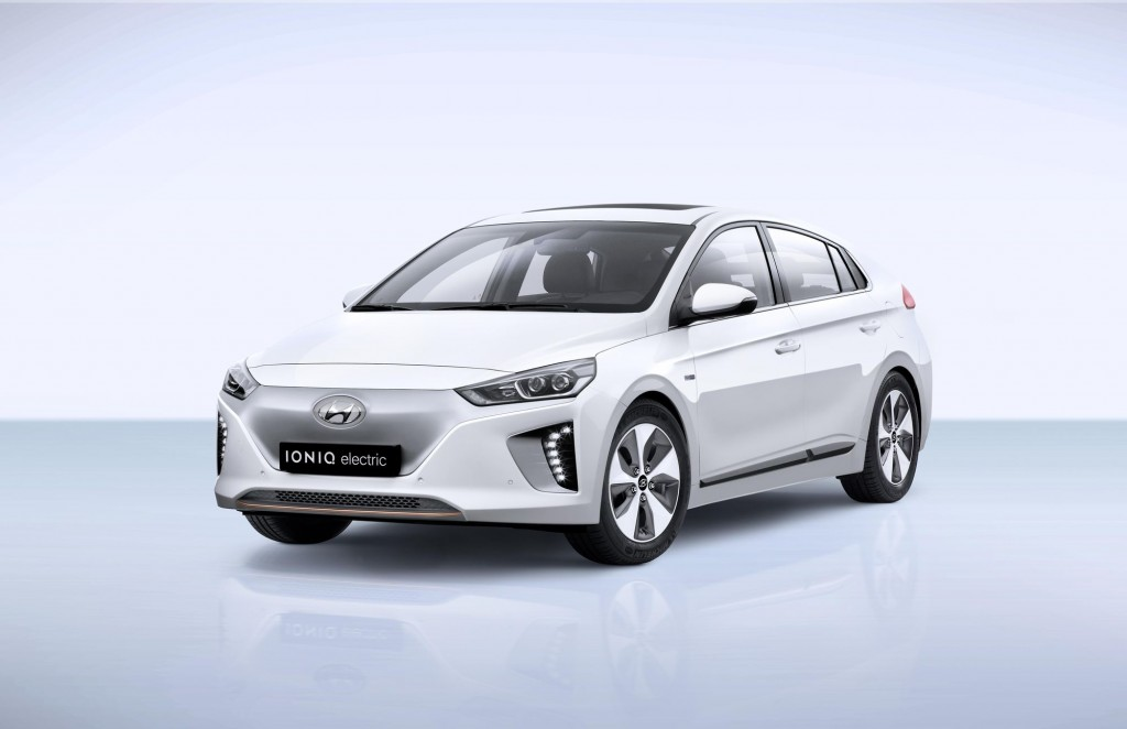 Hyundai Ioniq Electric. (image: Hyundai Motor Company)