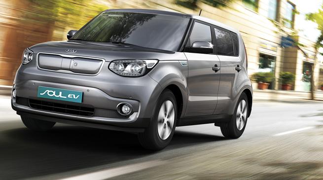 Kia Soul EV. (image: Kia Motors)