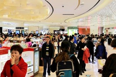 S. Korea's Duty-free Sales Fall 19 pct in March amid THAAD Row