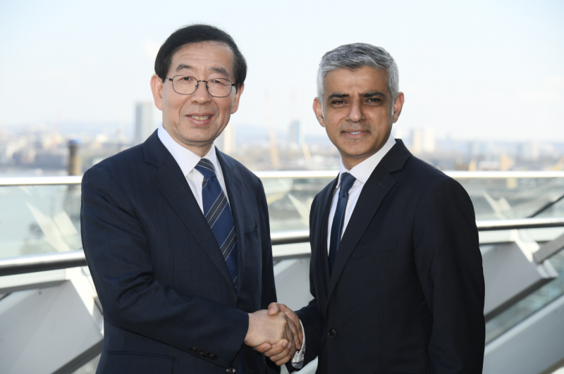 Seoul, London Renew Friendship, Boost Intercity Cooperation