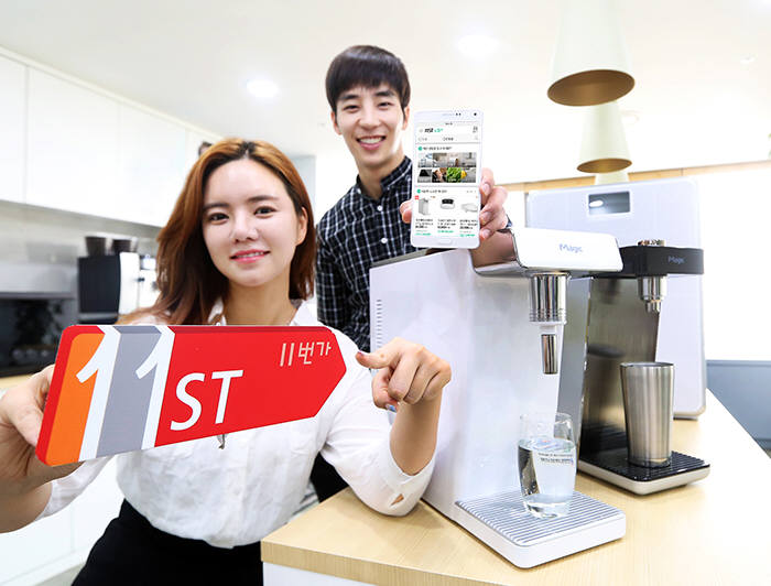 SK Planet has partnered up with 17 companies that sell household goods to offer rental services to its users. (image: SK Planet)
