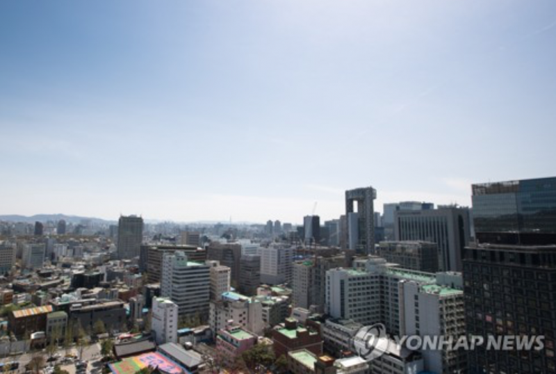 Blue Skies Over Korean Peninsula as Smog Finally Clears